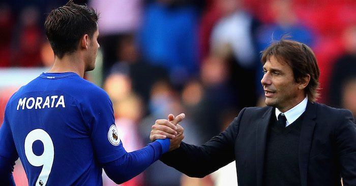 Morata tells boss Antonio Conte to sign former Barca striker