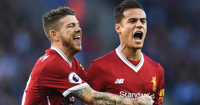 Alberto Moreno shares discussion with Philippe Coutinho over future