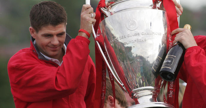 Steven Gerrard's Cracking Response to Who Won the Champions League in 2006/07