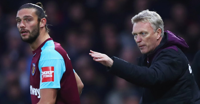 West Ham draw 1-1 with Leicester for David Moyes' 1st point