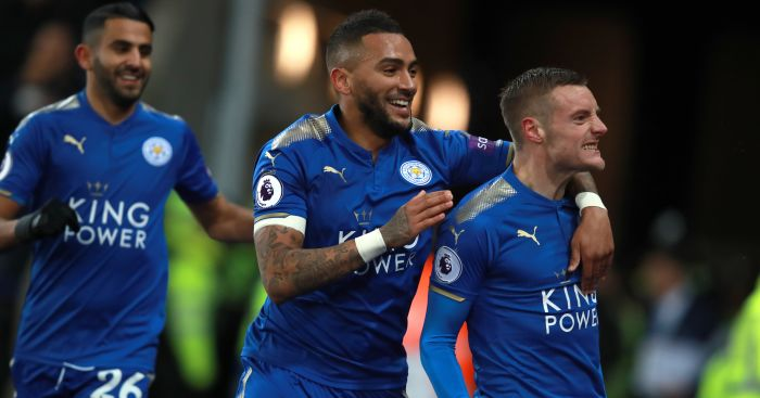 Vardy and Mahrez strike as Leicester cut down Tottenham