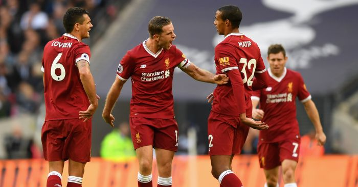 Joel Matip expected to be out until New Year with thigh injury