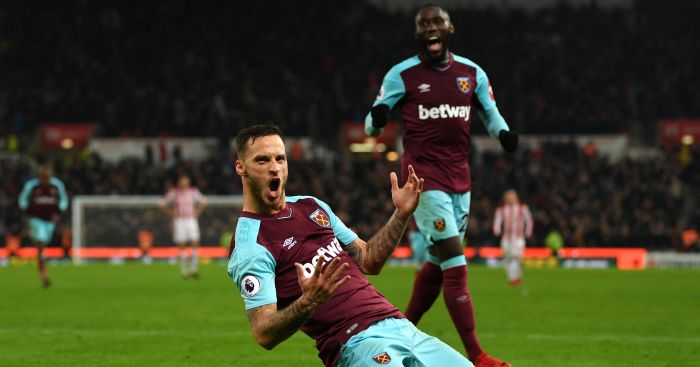 Stoke boss Hughes: Arnautovic should be aiming higher than West Ham