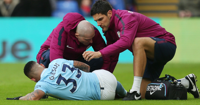 Manchester City reveal Gabriel Jesus has suffered MCL injury