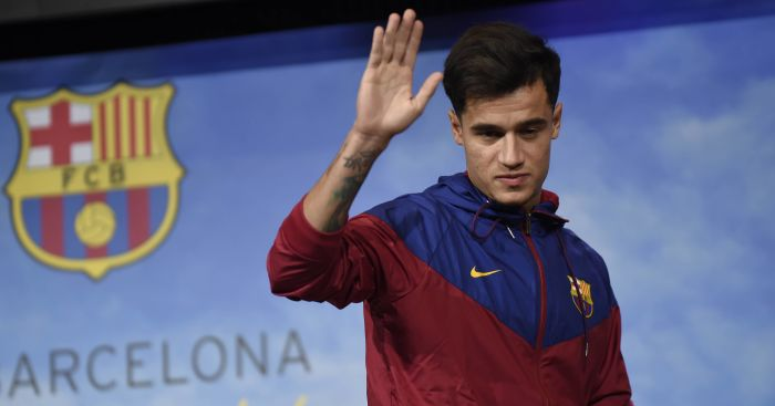 Barca confirm Coutinho signing