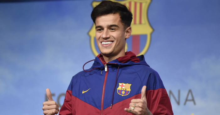 Philippe Coutinho completes Barcelona medical ahead of switch from Liverpool
