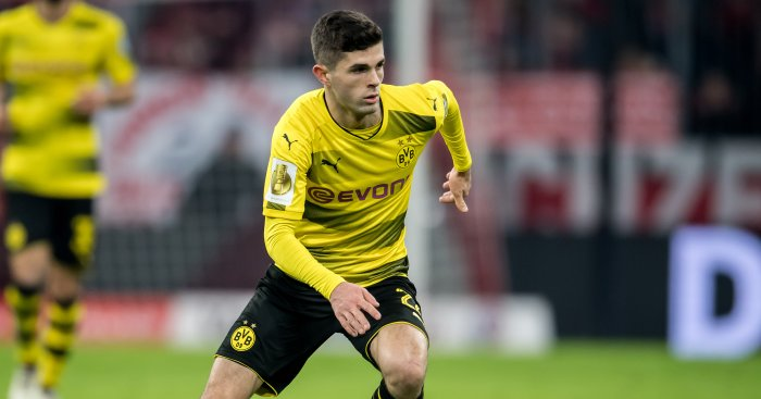 Manchester United ready to challenge Liverpool for Borussia Dortmund's Christian Pulisic
