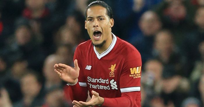 Liverpool's Virgil van Dijk: £75m price tag 'a big compliment'
