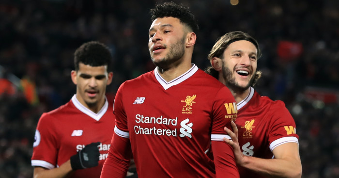 Oxlade-Chamberlain living the dream at Liverpool