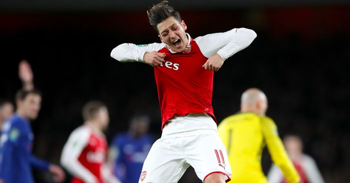 Arsenal boosted as Wenger makes bold statement on future of Ozil