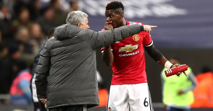 Paul Pogba, Jose Mourinho Get in Heated Argument at Tottenham