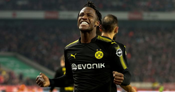 Michy Batshuayi scores a brace for Dortmund on debut