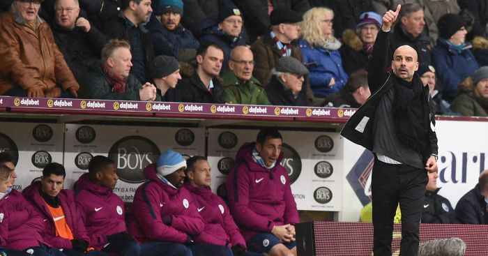 Raheem Sterling's miss of season allows Burnley to hold leaders City