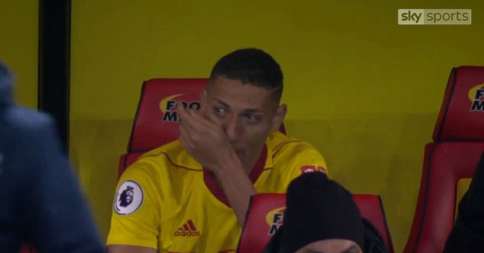 Deeney in hot water for Watford goal celebration