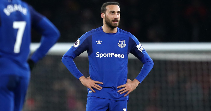 Just less than two months in the Premier League and Everton man might quit.