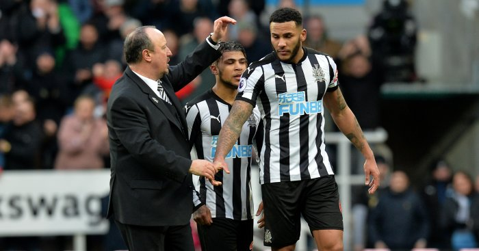 Lascelles quite happy at Newcastle, says Benitez