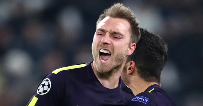 Spurs stage stirring comeback to gain upper hand against Juve