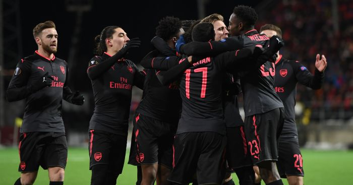 Beating 'Swedish plumbers' boosts Wenger's confidence ahead of City League Cup tie.