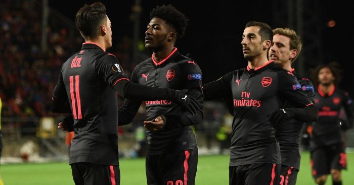 Henrikh Mkhitaryan Starts - Arsenal Team vs Ostersunds Confirmed