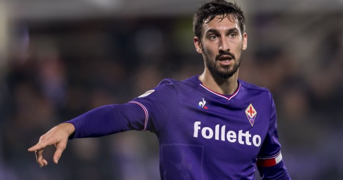 Italy in shock as Fiorentina captain Astori dies suddenly aged 31