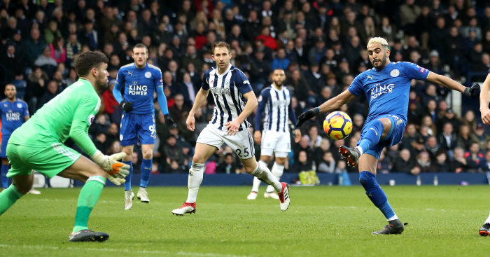 Leicester City thrash West Brom; West Ham beaten by Burnley