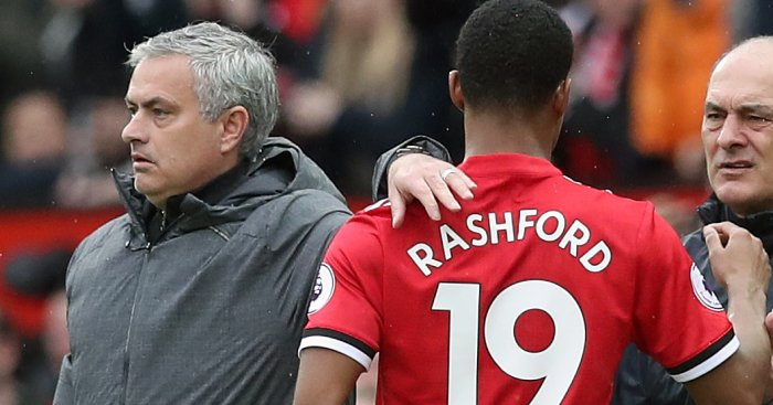 Mourinho gives explanations on why he had to take off Rashford.