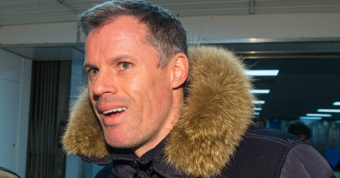 Don't sack Jamie Carragher, spitting victim's family urge Sky