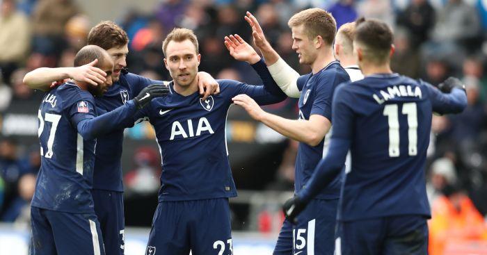 Christian Eriksen admits Tottenham were 'over-confident' against Juventus