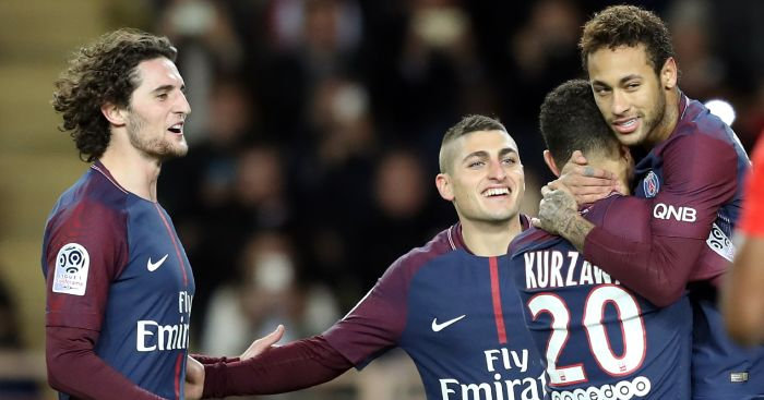 PSG star teases Liverpool, Arsenal over chances of summer switch