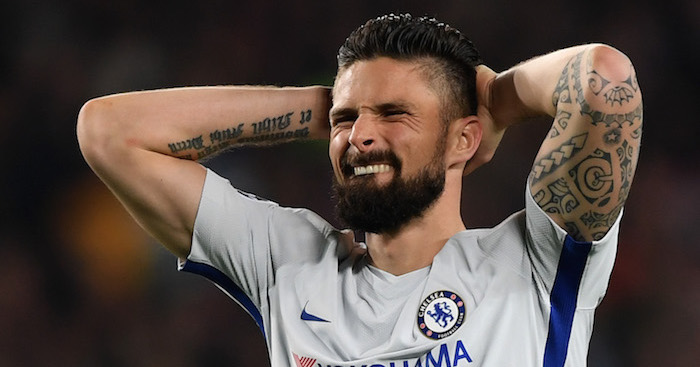 Chelsea striker Olivier Giroud sends fierce warning to Tottenham star Hugo Lloris