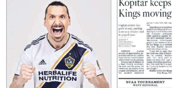 Zlatan Signs Contract With LA Galaxy
