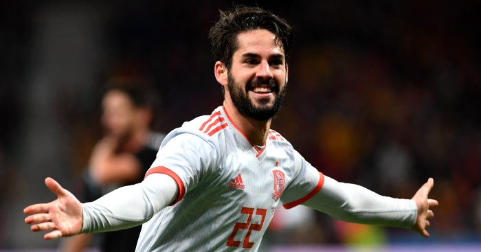 Isco blasts Real Madrid boss Zinedine Zidane following hattrick for Spain