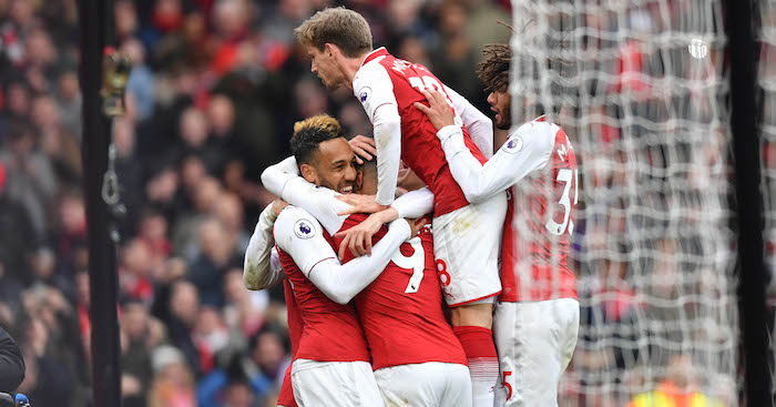 Arsenal beat Stoke 3-0 in Premier League