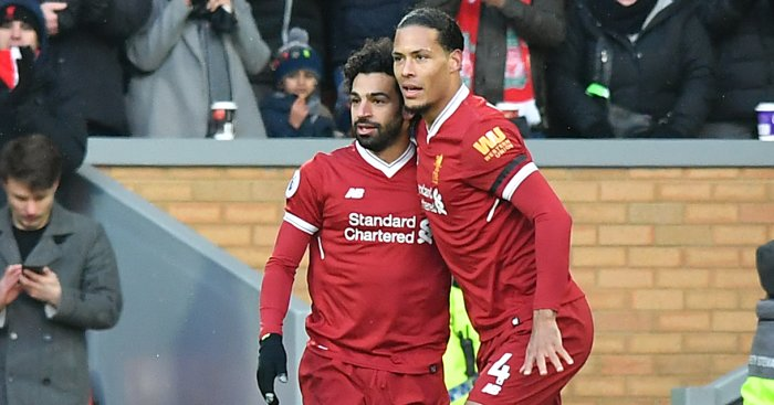 Liverpool's Mohamed Salah 'can beat anyone' on his day - VIrgil van Dijk