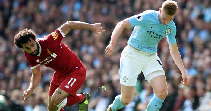 Manchester City's Kevin De Bruyne votes Mohamed Salah to win PFA Award