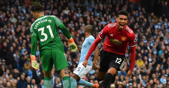 United laid down marker with comeback against City, says Chris Smalling