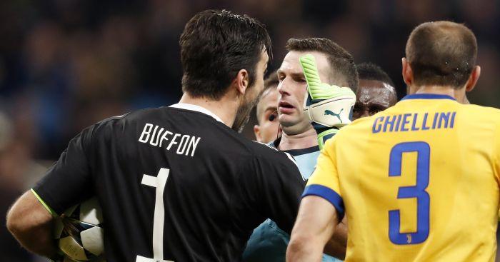 Ronaldo shows class with brilliant gesture to Juventus player Gianluigi Buffon