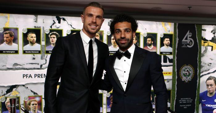 Liverpool's Mo Salah wins PFA player of the year award