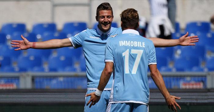 Spurs launching £100M bid for Lazio pair Milinkovic-Savic, Immobile