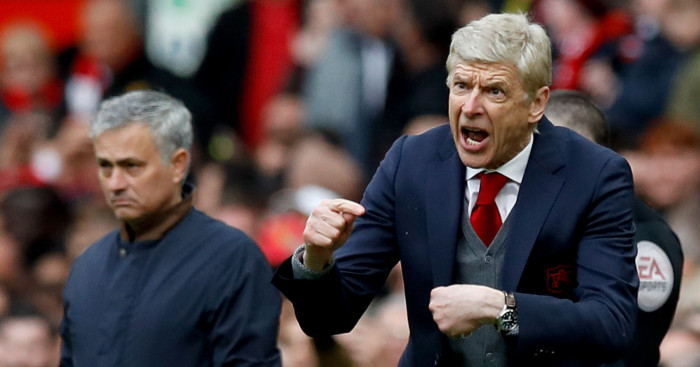 Wenger salutes his young side after United defeat