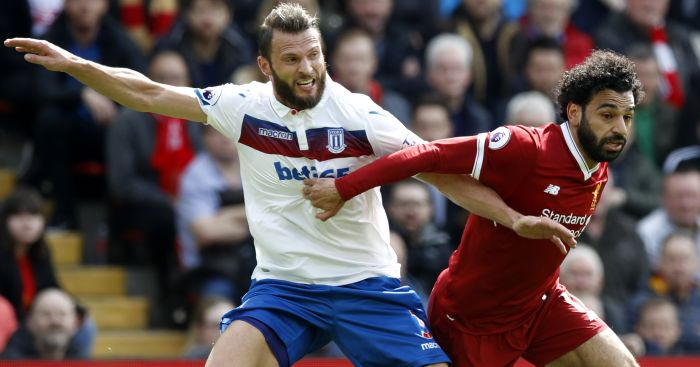 Liverpool frustrated by struggling Stoke in goalless draw at Anfield
