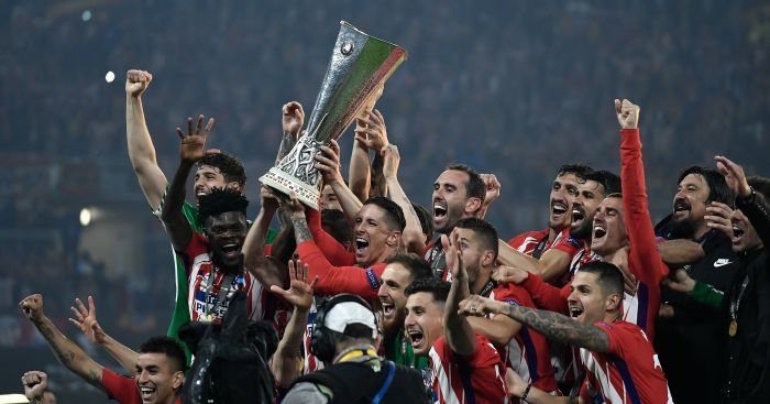 Spain's Atletico Madrid rout Marseille in Europa League final