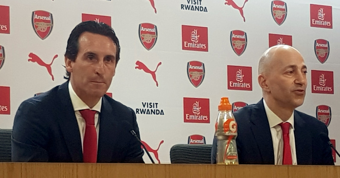Emery dodges Wilshere question in first Arsenal press conference