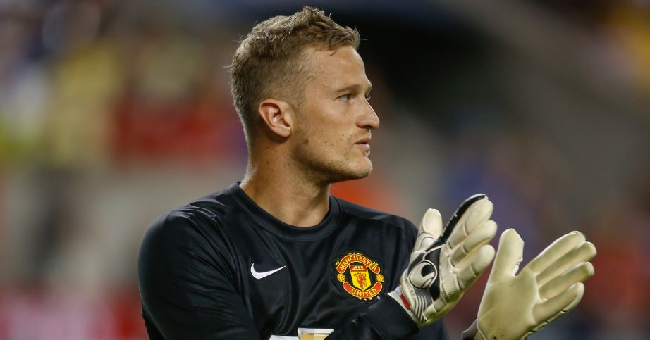 Anders Lindegaard: Joined West Brom from Manchester United over the summer