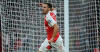 Aaron Ramsey: Had goal disallowed for Arsenal against Liverpool