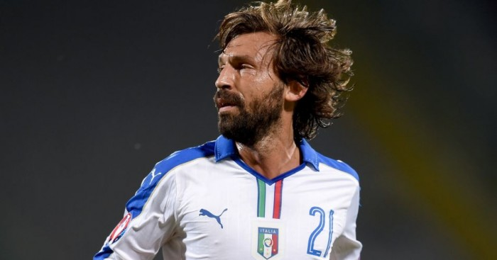 Andrea Pirlo: Not heading to Euro 2016
