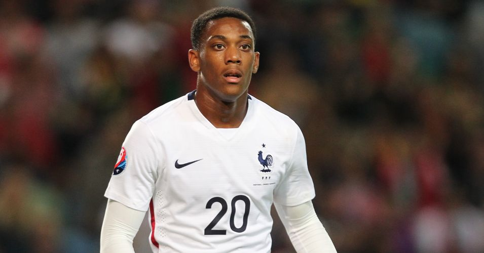 Anthony Martial: Made senior France debut against Portugal