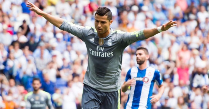 Cristiano Ronaldo: Netted five goals against Espanyol to set Real Madrid scoring record