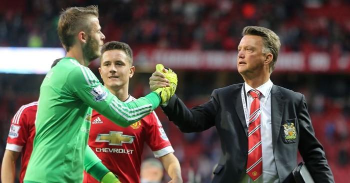 Louis van Gaal: Hopes to have De Gea back on Thursday