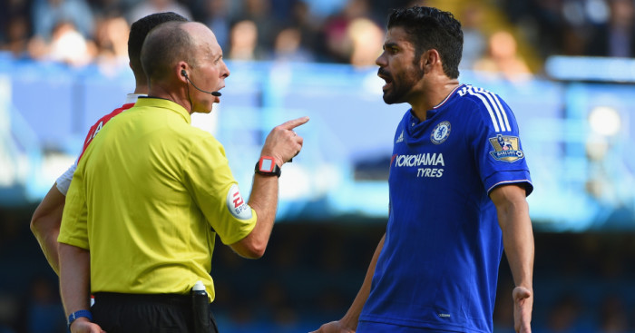 Diego Costa: Chelsea striker serving a three-match ban for violent conduct